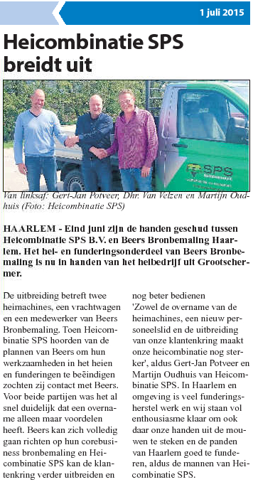 Haarlems weekblad 1 juli 2015
